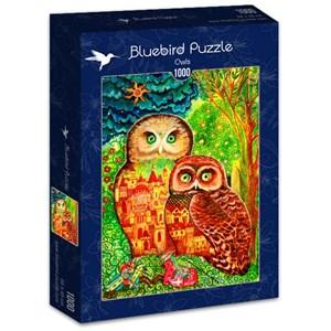 "Bluebird Puzzle (70414) - Oxana Zaika: ""Owls"" - 1000 pièces"