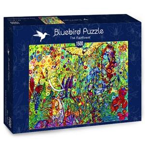 "Bluebird Puzzle (70409) - Sally Rich: ""The Rainforest"" - 1500 pièces"