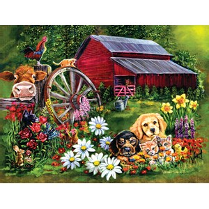 """SunsOut (60410) - Eileen Herb-Witte: """"Sweet Country"""" - 500 pièces"""