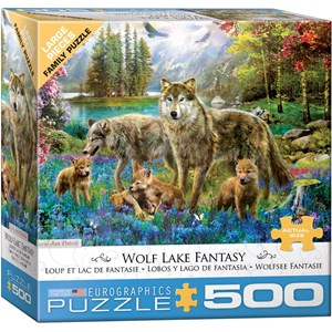 "Eurographics (6500-5360) - ""Wolf Lake Fantasy"" - 500 pièces"