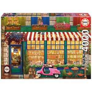 """Educa (18582) - """"Vintage Bookshop"""" - 4000 pièces"""