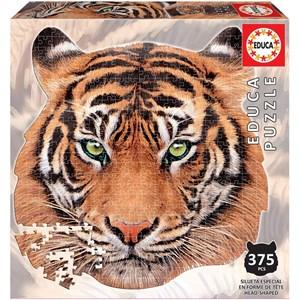 "Educa (18475) - ""Tiger Face"" - 375 pièces"