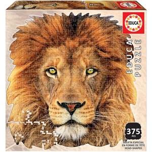 """Educa (18653) - """"Tête de lion"""" - 367 pièces"""