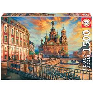 """Educa (18501) - """"Saint Petersburg"""" - 1500 pièces"""