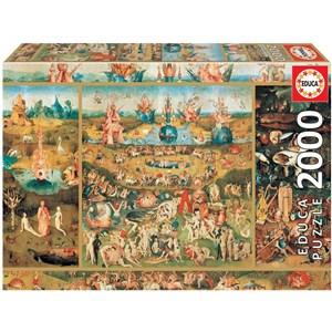 "Educa (18505) - Hieronymus Bosch: ""The Garden of Earthly Delights"" - 2000 pièces"