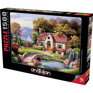 "Anatolian (4559) - Sung Kim: ""Stone Bridge Cottage"" - 1500 pièces"