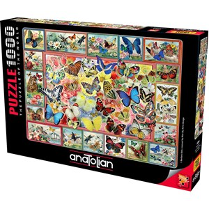 """Anatolian (1094) - Barbara Behr: """"Lots Of Butterflies"""" - 1000 pièces"""