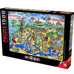 "Anatolian (4557) - Maria Rabinsky: ""European World"" - 1500 pièces"
