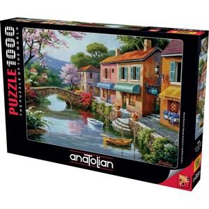"""Anatolian (1053) - Sung Kim: """"Quaint Village Shops"""" - 1000 pièces"""