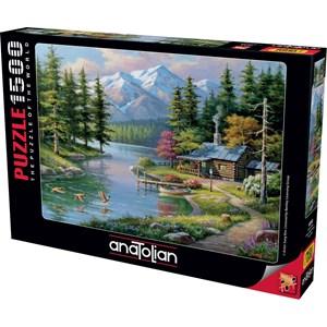 "Anatolian (4554) - Sung Kim: ""Resting Canoe"" - 1500 pièces"