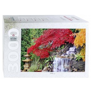 "Step Puzzle (85019) - ""Waterfall in the Japanese Garden"" - 3000 pièces"