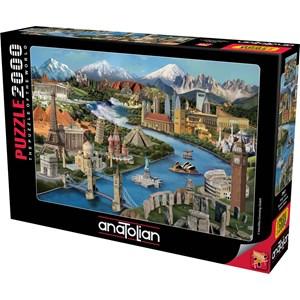 "Anatolian (3941) - Daniela Pirola: ""Popular Landmarks"" - 2000 pièces"