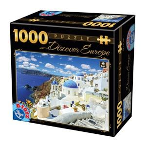 """D-Toys (74874) - """"Santorini"""" - 1000 pièces"""