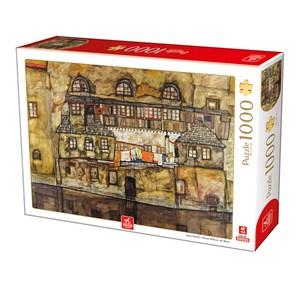 "Deico (76748) - Egon Schiele: ""House Wall on the River"" - 1000 pièces"