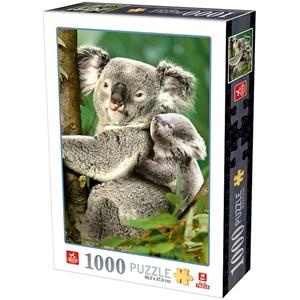 """D-Toys (76816) - """"Koala Bears"""" - 1000 pièces"""