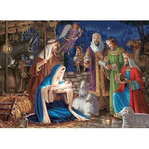 "Cobble Hill (80248) - Liz Goodrick-Dillon: ""Miracle in Bethlehem"" - 1000 pièces"