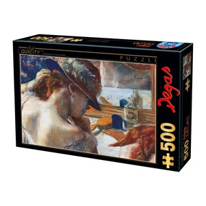 """D-Toys (73938) - Edgar Degas: """"In Front of the Mirror"""" - 500 pièces"""