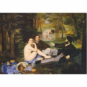 """D-Toys (76458) - Edouard Manet: """"Déjeuner sur l'herbe"""" - 1000 pièces"""