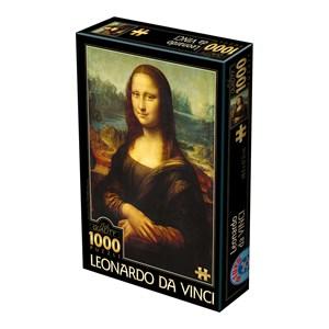 "D-Toys (72689) - Leonardo Da Vinci: ""Mona Lisa"" - 1000 pièces"