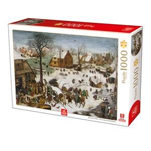 "Deico (76649) - Pieter Brueghel the Elder: ""The numbering at Bethlehem"" - 1000 pièces"