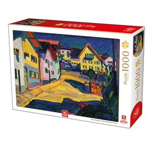 "Deico (76755) - Vassily Kandinsky: ""Murnau Burggrabenstrasse"" - 1000 pièces"
