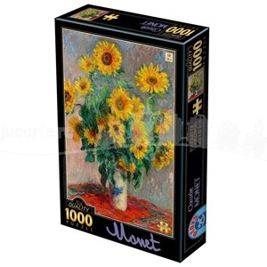 "D-Toys (75864) - Claude Monet: ""Bouquet of Sunflowers"" - 1000 pièces"