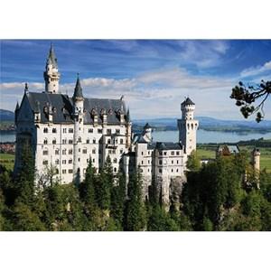 """D-Toys (75307) - """"Allemagne, Château de Neuschwanstein"""" - 500 pièces"""