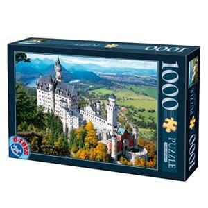 """D-Toys (70654) - """"Allemagne, Château de Neuschwanstein"""" - 1000 pièces"""