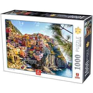 """Deico (76809) - """"Cinque Terre, Italy"""" - 1000 pièces"""