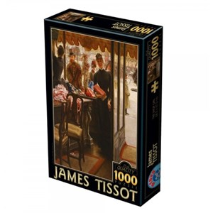 "D-Toys (75086) - James Tissot: ""The Shop Girl"" - 1000 pièces"