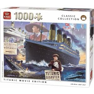 "King International (55933) - ""Titanic Movie Edition"" - 1000 pièces"
