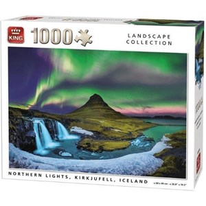 "King International (55938) - ""Northern Lights, Kirkjufell, Iceland"" - 1000 pièces"
