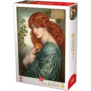 "Deico (76717) - Dante Gabriel Rossetti: ""Proserpine"" - 1000 pièces"