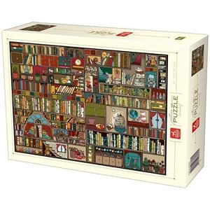 """Deico (76434) - """"Bibliothèque"""" - 1000 pièces"""