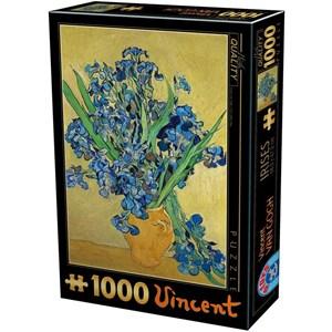 """D-Toys (75888) - Vincent van Gogh: """"Vincent Van Gogh"""" - 1000 pièces"""