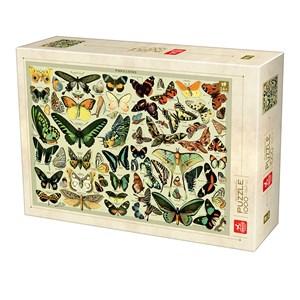 """Deico (76786) - """"Encyclopédie Papillons"""" - 1000 pièces"""