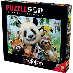 "Anatolian (3596) - ""Zoo Selfie"" - 500 pièces"