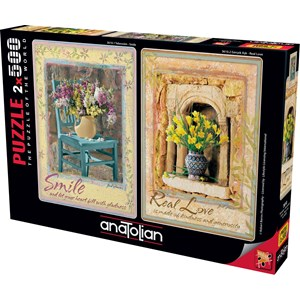 """Anatolian (3610) - """"Smile, Real Love"""" - 500 pièces"""