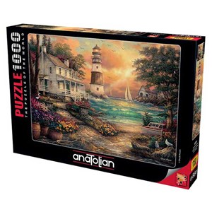 """Anatolian (1075) - """"Cottage by the Sea"""" - 1000 pièces"""