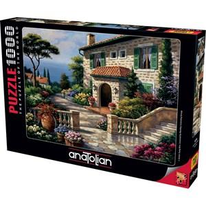 """Anatolian (1076) - Sung Kim: """"Villa Delle Fontana"""" - 1000 pièces"""