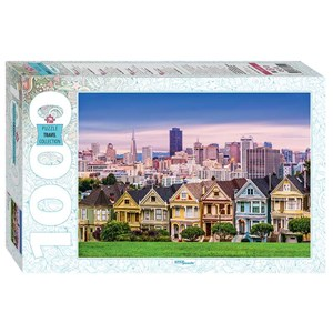"Step Puzzle (79141) - ""The Painted Ladies of San Francisco"" - 1000 pièces"