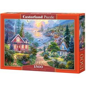 """Castorland (C-151929) - """"Coastal Living"""" - 1500 pièces"""