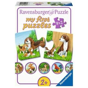 """Ravensburger (05072) - """"Les Animaux de la Ferme"""" - 2 pièces"""