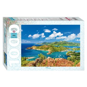 "Step Puzzle (79139) - ""Shirley Heights, Antigua"" - 1000 pièces"