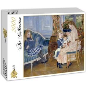 """Grafika (00747) - Pierre-Auguste Renoir: """"L'après-midi des enfants à Wargemont, 1884"""" - 2000 pièces"""