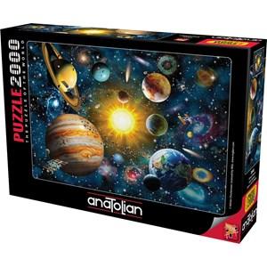 "Anatolian (3946) - Adrian Chesterman: ""Solar System"" - 2000 pièces"