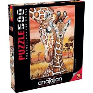 """Anatolian (3615) - Lynn Bean: """"Girafes"""" - 500 pièces"""