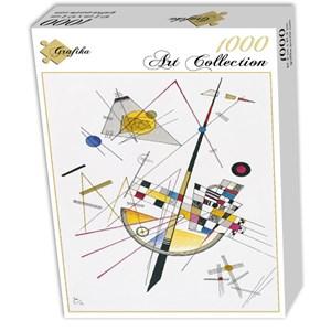 "Grafika (00632) - Vassily Kandinsky: ""Delicate Tension, 1923"" - 1000 pièces"