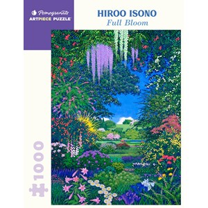 """Pomegranate (aa1089) - Hiroo Isono: """"Full Bloom"""" - 1000 pièces"""