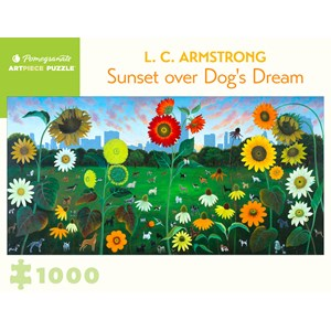 """Pomegranate (aa1090) - L. C. Armstrong: """"Sunset over Dog's Dream"""" - 1000 pièces"""